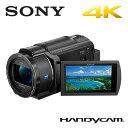 SONY デジタルビデオカメラ ハンディカム 4K 64GB FDR-AX40-B ブラック 4Kハンディカム【送料無料】【KK9N0D18P】