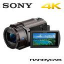 SONY デジタルビデオカメラ ハンディカム 4K 64GB FDR-AX40-TI ブロンズブラウン 4Kハンディカム【送料無料】【KK9N0D18P】