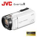JVC ビデオカメラ エブリオR 防水 防塵 ハイビジョンメモリームービー 32GB GZ-R400-W パールホワイト 【送料無料】【KK9N0D18P】