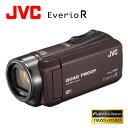 JVC ビデオカメラ エブリオR 防水 防塵 WiFi対応 ハイビジョンメモリームービー 64GB GZ-RX600-T ブラウン 【送料無料】【KK9N0D18P】