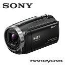 SONY デジタルビデオカメラ ハンディカム デジタルHD 32GB HDR-CX675-B ブラック 【送料無料】【KK9N0D18P】