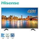 ハイセンス 40V型 LED液晶テレビ K225 USBハードディスク録画モデル HS40K225 【送料無料】【KK9N0D18P】