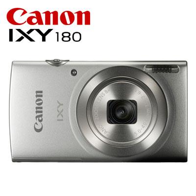 CANON コンパクトデジタルカメラ IXY 180 IXY180-SL シルバー 【送料無料】【KK9N0D18P】