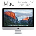APPLE iMac Intel Core i5 3.2GHz 1TB Fusion Drive 27インチ Retina 5Kディスプレイモデル MK472J...