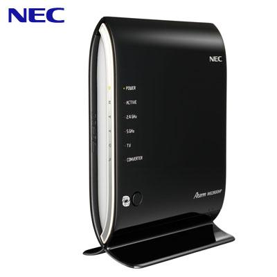 NEC 11ac対応 1733Mbps + 800Mbps 無線LANルーター Wi-Fiルーター Aterm WG2600HP PA-WG2600HP ビームフォーミング 【送料無料】【KK9N0D18P】