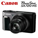CANON コンパクトデジタルカメラ PowerShot SX720 HS パワーショット PSSX720HS-BK ブラック 【送料無料】【KK9N0D18P】