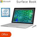 マイクロソフト Surface Book 13.5インチ Windows ノートパソコン 512GB Core i7 サーフェス タブレットPC CR7-00006 【送料無料】【KK9N0D18P】