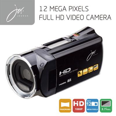 FULLHDビデオカメラ ブラック JOY5162BK ジョワイユ 【送料無料】【KK9N0D18P】