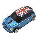 無線マウス ミニクーパー Union Flag カーマウス ワイヤレス 2.4G ブルー LANDMICE MINI-COPSU-BL 【送料無料】【KK9N0D18P】