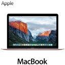 Apple MacBook 512GB 12インチ Core M 1.2GHz ノートパソコン MMGM2J/A ローズゴールド マックブック ノートPC アッ...