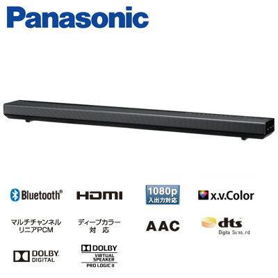 パナソニック ホームシアターシステム シアターバー 2.1ch Bluetooth対応 SC-HTB175-K ブラック【送料無料】【KK9N0D18P】