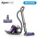 ダイソン サイクロンクリーナー Dyson Ball Animalpro キャニスター型掃除機 パワーブラシ CY25AN ニッケル&パープル/レッド 【送料無料】【KK9N0D18P】