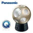 パナソニック 創風機 Q(キュー) 首振りスタンドセット LED搭載 扇風機 サーキュレーター F-BP25T-N シャンパンゴールド 【送料無料】【KK9N0D18P】