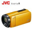 JVC デジタルビデオカメラ EverioR エブリオ 防水・防塵・耐衝撃 32GB GZ-R470-Y マスタードイエロー 【送料無料】【KK9N0D18P】