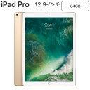 Apple 12.9インチ iPad Pro Wi-Fiモデル 64GB MQDD2J/A ゴールド Retinaディスプレイ MQDD2JA アップル【送料無料】【KK9N0D18P】