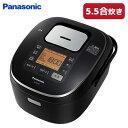 パナソニック 5.5合炊き IHジャー炊飯器 SR-HB107-K ブラック【送料無料】【KK9N0D18P】
