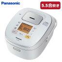 パナソニック 5.5合炊き IHジャー炊飯器 SR-HB107-W ホワイト【送料無料】【KK9N0...