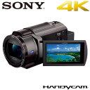 ソニー デジタル4Kビデオカメラレコーダー ハンディカム FDR-AX45-TI ブロンズブラウン【