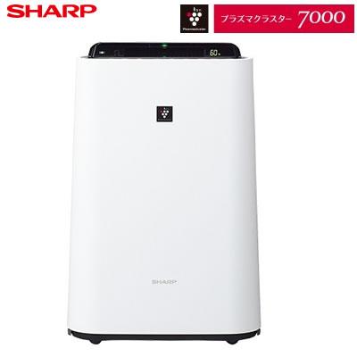 【即納】シャープ プラズマクラスター7000 加湿空気清浄機 KC-H50-W ホワイト系【送料無料】【KK9N0D18P】