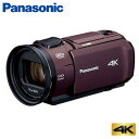 パナソニック デジタルビデオカメラ 4K 64GB HC-VX1M-T ブラウン【送料無料】【KK9N0D18P】