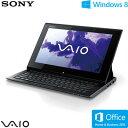 ソニー ノートパソコン VAIO Duo 11 11.6型ワイド タッチ SVD11229CJB ブラック 2013年春モデル【送料無料】