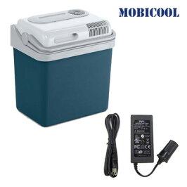 【セット】MOBICOOLポータブルクーラーボックス+AC/DCアダプターセットP24DC-MPA-5012