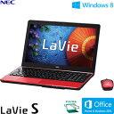 NEC ノートパソコン LaVie LS550/MS 15.6型ワイド タッチ PC-LS550MSR ルミナスレッド 【2013年夏モデル】【送料無料】【楽天イーグルス日本一セール】