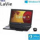 NEC ノートパソコン LaVie L LL850/NSB 15.6型ワイド タッチ PC-LL850NSB クリスタルブラック 2013年秋冬モデル【送料無料】【楽天イーグルス日本一セール】