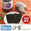 【初回限定】2個セット有明産 味付けのり 汐紫(しおむらさき) 【味付け海苔 味海苔 味のり 国産】【牡蠣】(お試し・送料無料)