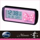 車用時計:ミニー(ディズニー)電波時計WN-5【メール便可¥320】