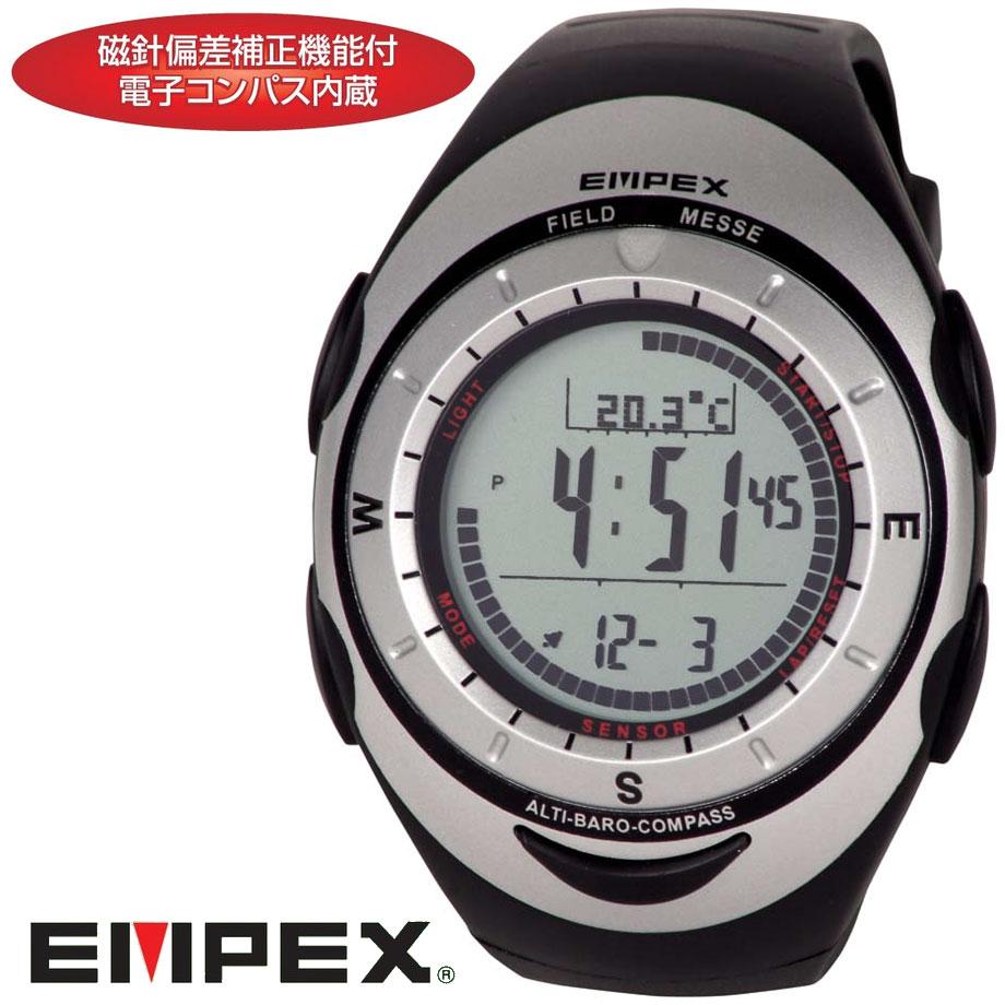 高度計&気圧計&コンパス&温度計つきデジタル腕時計FG-5907【送料無料・代引手数料無料…...:akio:10000626