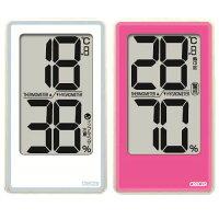 温湿度計:でか文字デジタル温度湿度計CR2000