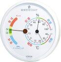 温湿度計:熱中症&季節性インフルエンザ目安計TF-165(壁掛・卓上)【メール便可¥320】