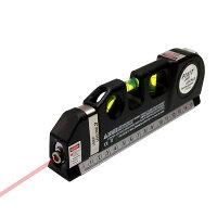 水平器:水平・垂直・十字レーザー&メジャー&水準器SR-00626