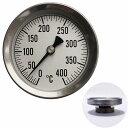 高温温度計:薪ストーブ煙突用温度計(0〜400℃)【郵送可¥260】【05P03Dec16】