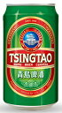青島ビール(チンタオ)缶 330ml/24ik