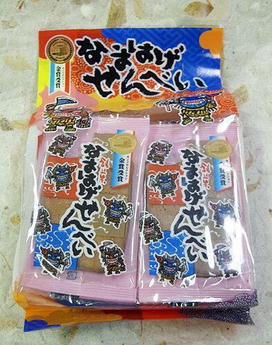 フジタ製菓 なまはげせんべい 14枚入の商品画像