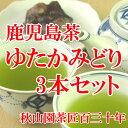 新茶【2017年産】鹿児島茶ゆたかみどり 80g×3本 (am-m)緑茶 煎茶 メール便(DM便)送料無料
