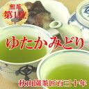 【かごしまフェア】ゆたかみどり 80g(am10)緑茶 煎茶 メール便(DM便)送料無料