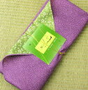 A Japanese green tea gift set [purple] of the furoshiki lapping [easy ギフ _ packing] [comfortable ギフ _ expands an address] [easy ギフ _ Messe input] (amg) [RCP]