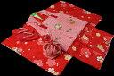 七五三 着物 3歳 女の子 着物 被布セット 正絹 新品73...