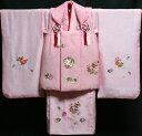 七五三 着物 3歳 女の子 着物 被布セット 新品73j28...