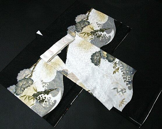 お宮参り 着物 男 男児祝着 正絹のしめ 初着...の紹介画像3