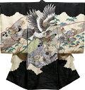 お宮参り 着物 男 男児祝着 正絹のしめ 初着 産着 新品d1930
