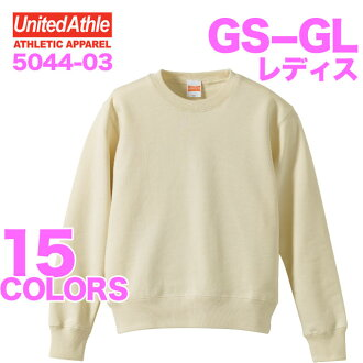 10.0 Oz crew neck sweatshirts (Pyle) ladies / athle UNITED ATHLE #5044-03 plain sweat-setup.