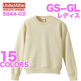 10.0 Oz crew neck sweatshirts (Pyle) ladies / athle UNITED ATHLE #5044-03 plain sweat-setup.