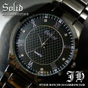 【tvs166】★送料無料!!999円!!★超人気メンズ腕時計!!スタイリッシュなデザイン♪/黒ブラック/【あす楽対応】