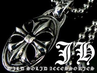 n74 伊達ワル系 最旬 コーデ クロスネックレス 十字架 ネックレス メンズ シルバー cr