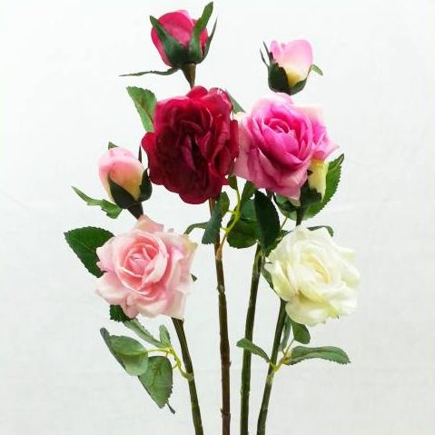 【造花・ローズ】ローズウィンク / ばら・バラ・薔薇 / ディスプレイ・アレンジ・素材   FA-6657