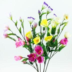 【造花・春・夏】ミニトルコギキョウ・リシアンサス / トルコキキョウ・桔梗|FF-2570